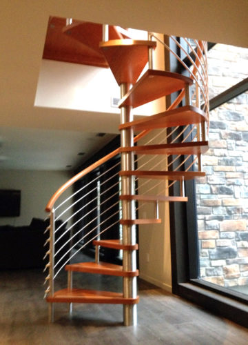 Blended Materials Stairs